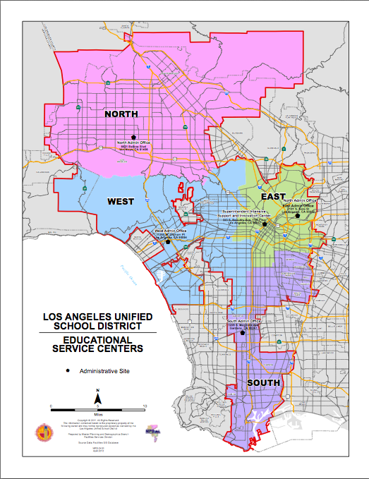 Lausd District Map New LAUSD LD Map | GoMamaGuide Lausd District Map