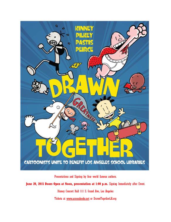Drawn Together cartoon flyer
