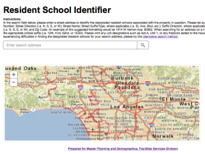 LAUSD RSI Map